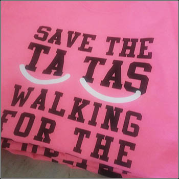 save the ta tas walkign for